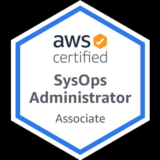 AWS Certified SysOps Administrator - Associate Logo